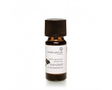 Living Nature Manukaöl 10ml - Manuka Oil - 100% naturreines, ätherisches Öl